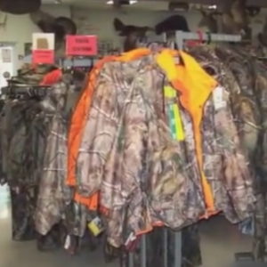 Photo of camo jackets at WhitetailCountry Sports World, Inc.