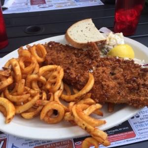 Preztel-Crusted Haddock at Zoar Valley Tavern & Restaurant
