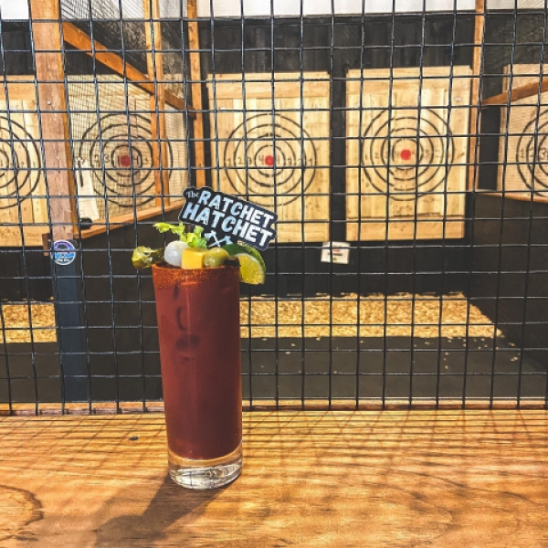 Bloody Mary at The Ratchet Hatchet