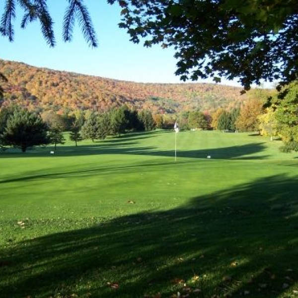 Photo of a view while golfing at Elkdale Country Club
