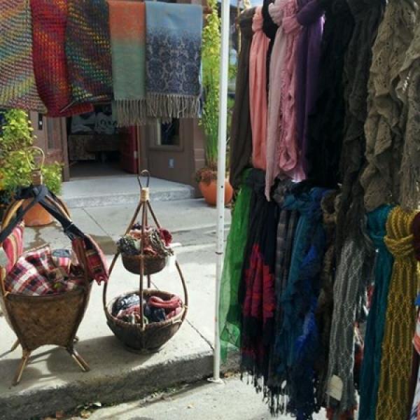 display at Gado Gado
