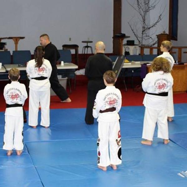 Salamanca Karate Class in Session