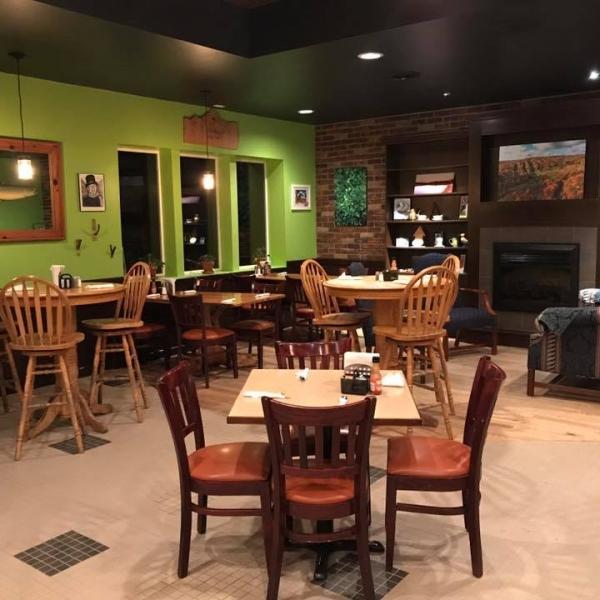 Inside Katy's Cafe