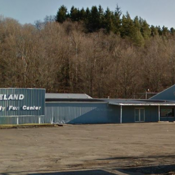 Google Earth Photo of Franklinville Skateland