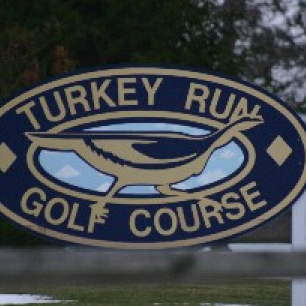 Photo of Turkey Run Golf Course sign