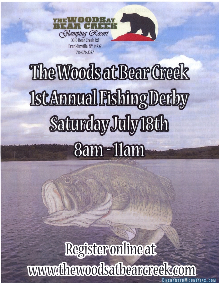 Fishing derby at the woods at bear creek enchanted for When does fishing license expire