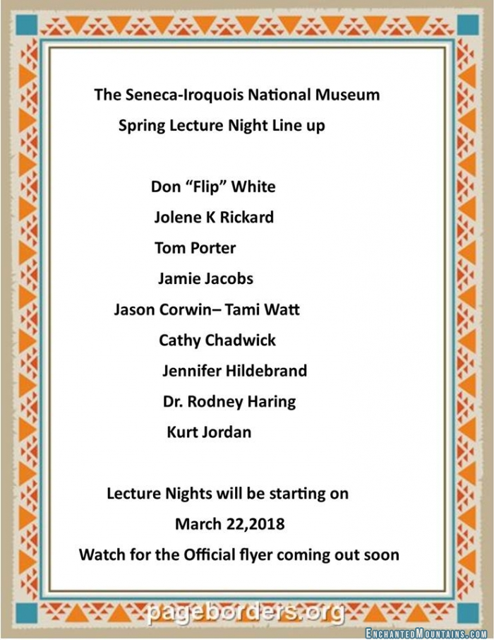 seneca iroquois white springs Present reservations of the seneca nation the nation  dences of continuing  white intermixture are the names of polish or italian  cold spring harbor  symp.