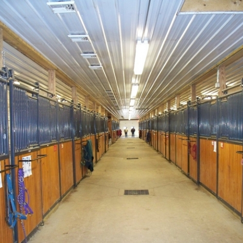 Box stalls at Nash Hill Equestrian Center