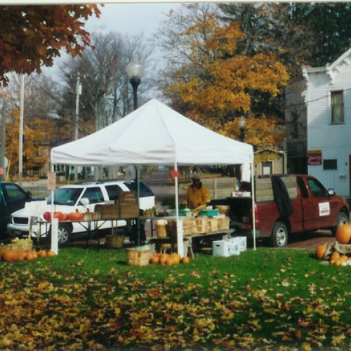 Autumn photo of Farmers Market
