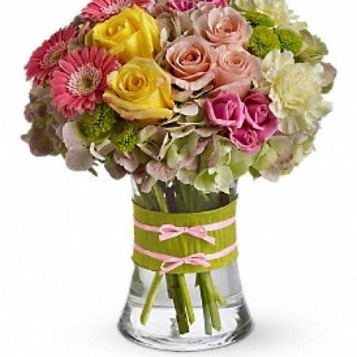 Photo of flower arrangement