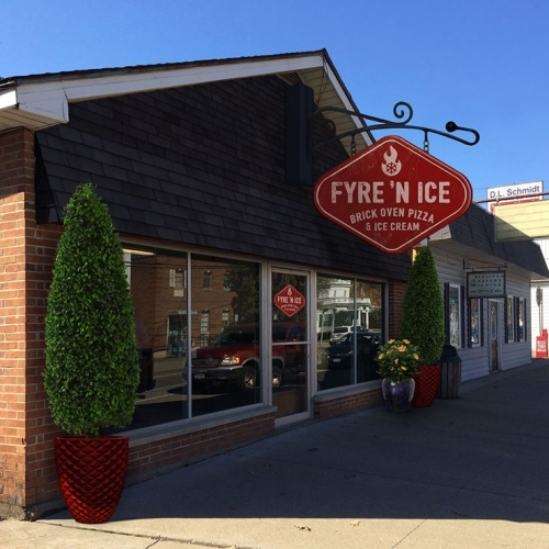 Outside of Fyre 'N Ice