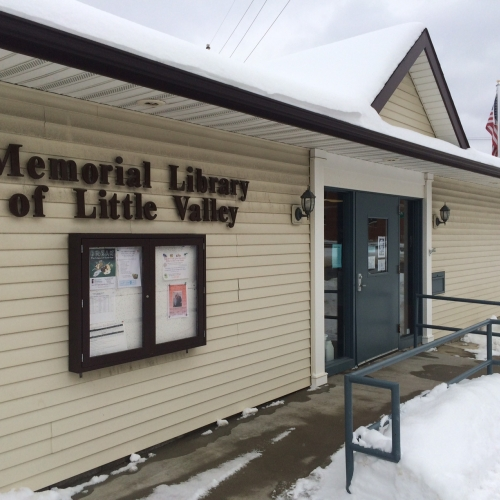 Photo of Memorial Library of Little Valley