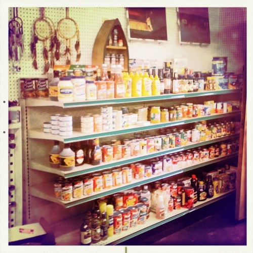 Photo of products in the store