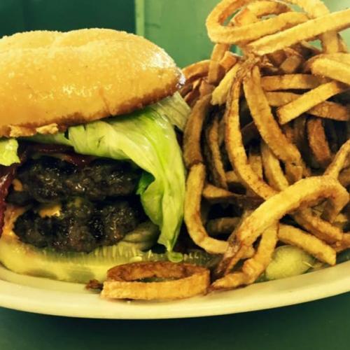 Burger at Robbins Nest, Olean