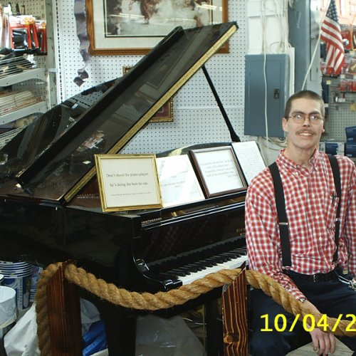 enjoy piano as you shop