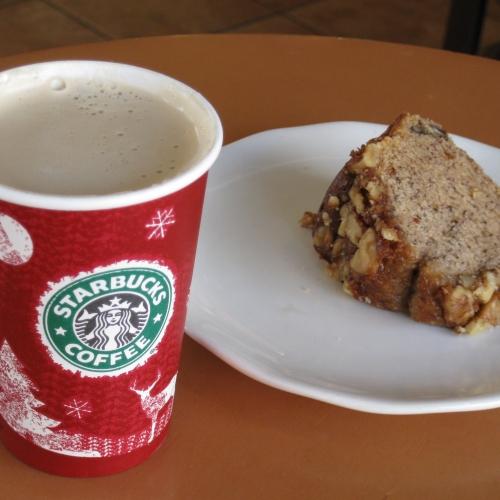 Starbucks and Cake