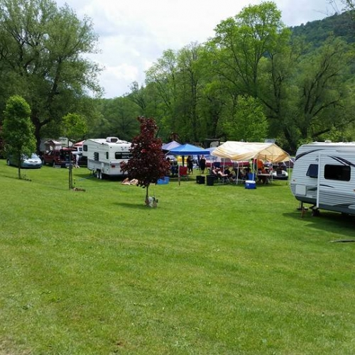 part of the campground