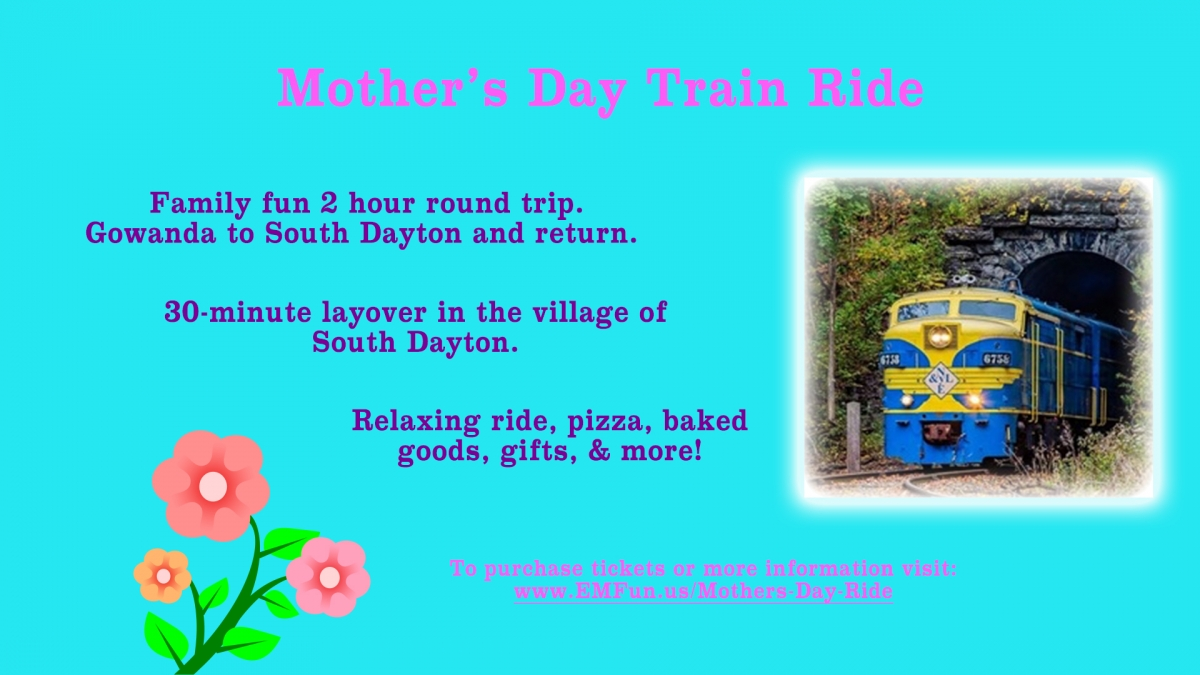 Mother's Day Train Ride