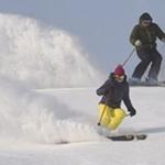 People skiing at Holiday Valley Resort
