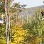 Sky High climbers in the Fall