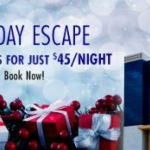 Holiday Escape Package at Seneca Allegany Resort and Casino