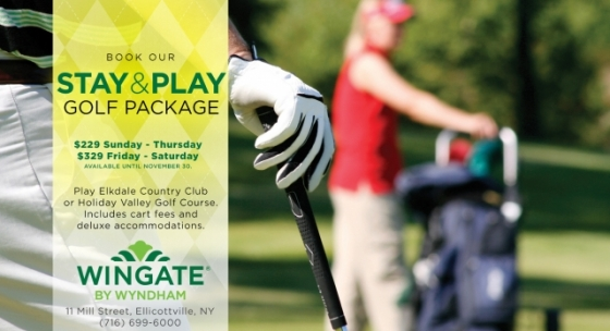 Wingate by Wyndham's Stay & Play Golf Package for 2017