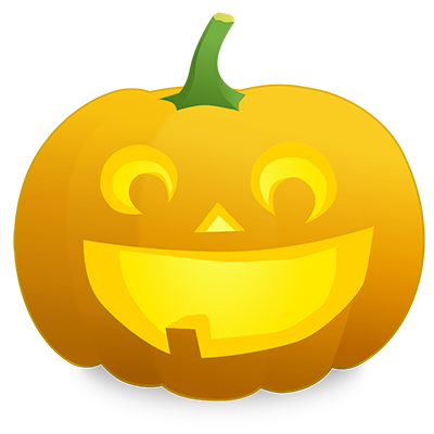 Jack-o-lantern from OpenClipArt.org