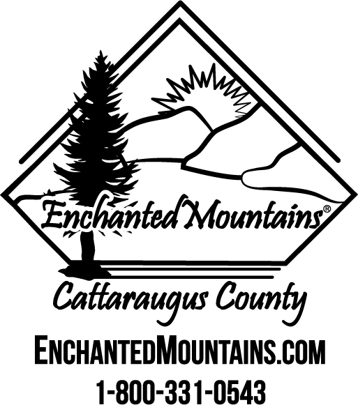 enchanted mountains logo enchanted mountains of cattaraugus county