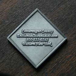 Back of EMGT GeoCoin/Challenge Coin