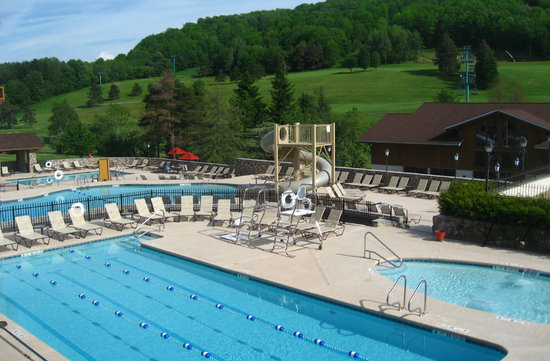 New Pools at Holiday Valley