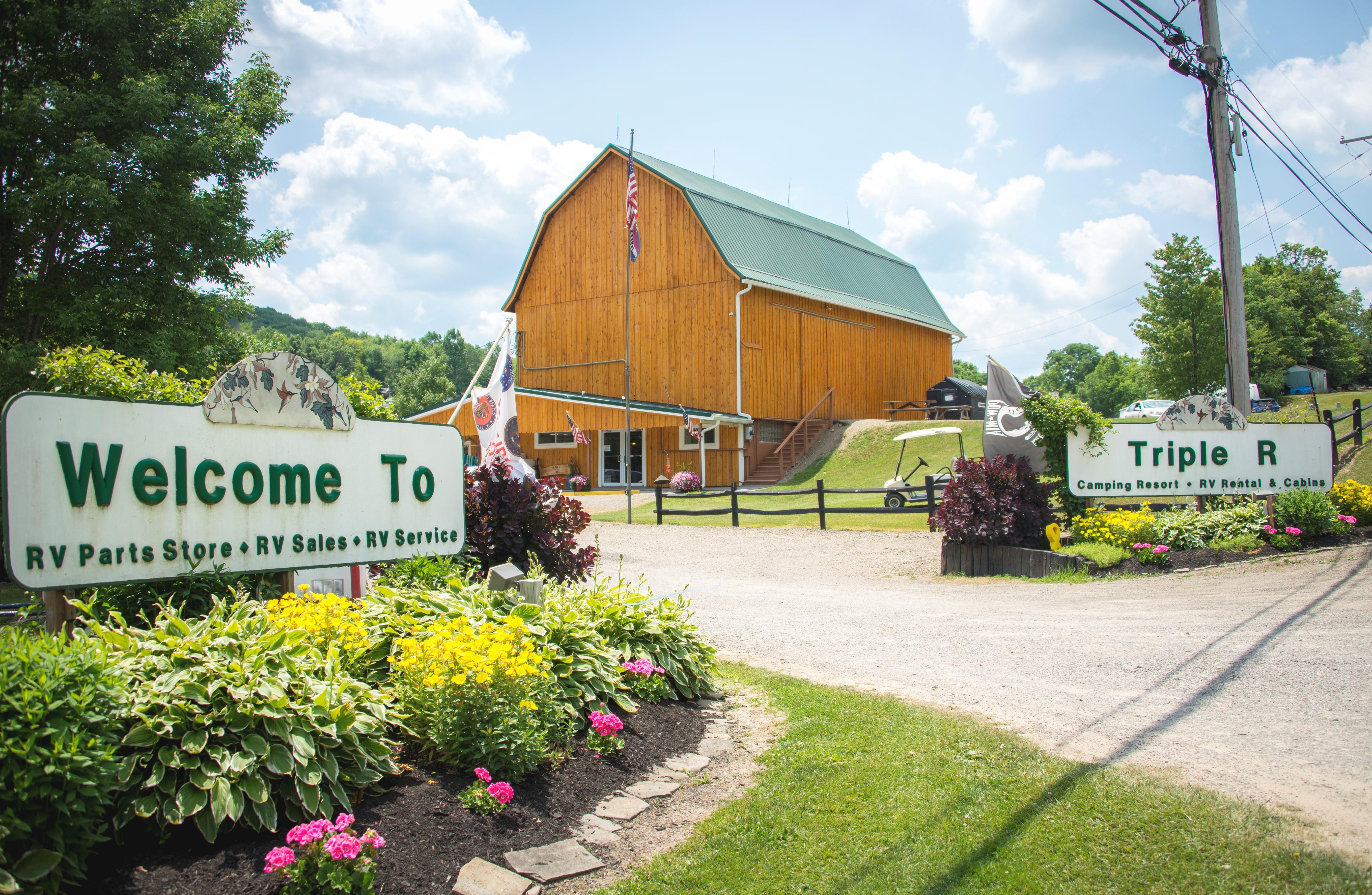 Triple R Camping Resort Amp Trailer Sales In Franklinville