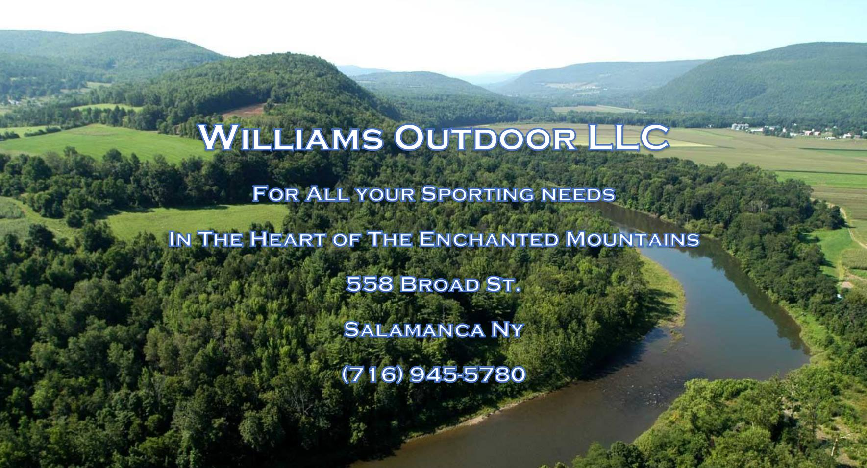 Williams outdoor llc in salamanca enchanted mountains for Nys fishing license cost
