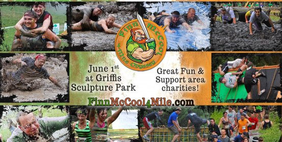 Crazy Irish Fun at Griffis Sculpture Park
