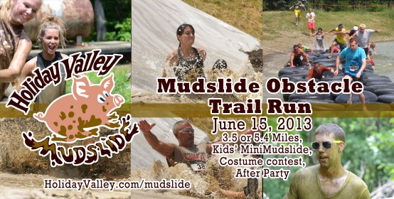 Mudslide Obstacle Run at Holiday Valley