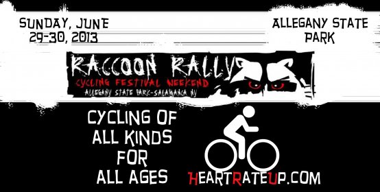 Raccoon Rally, a great bicycling event
