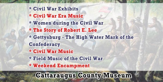 Summer Civil War Event Series at the Museum