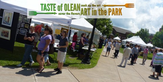 Taste of Olean & Art in the Park