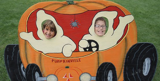 Pumpkinville is OPEN for the season!