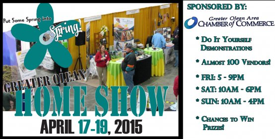 Home improvements at the Olean Area Home Show