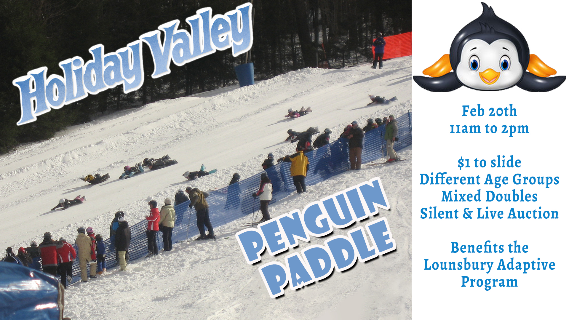 The Penguin Paddle at Holiday Valley!