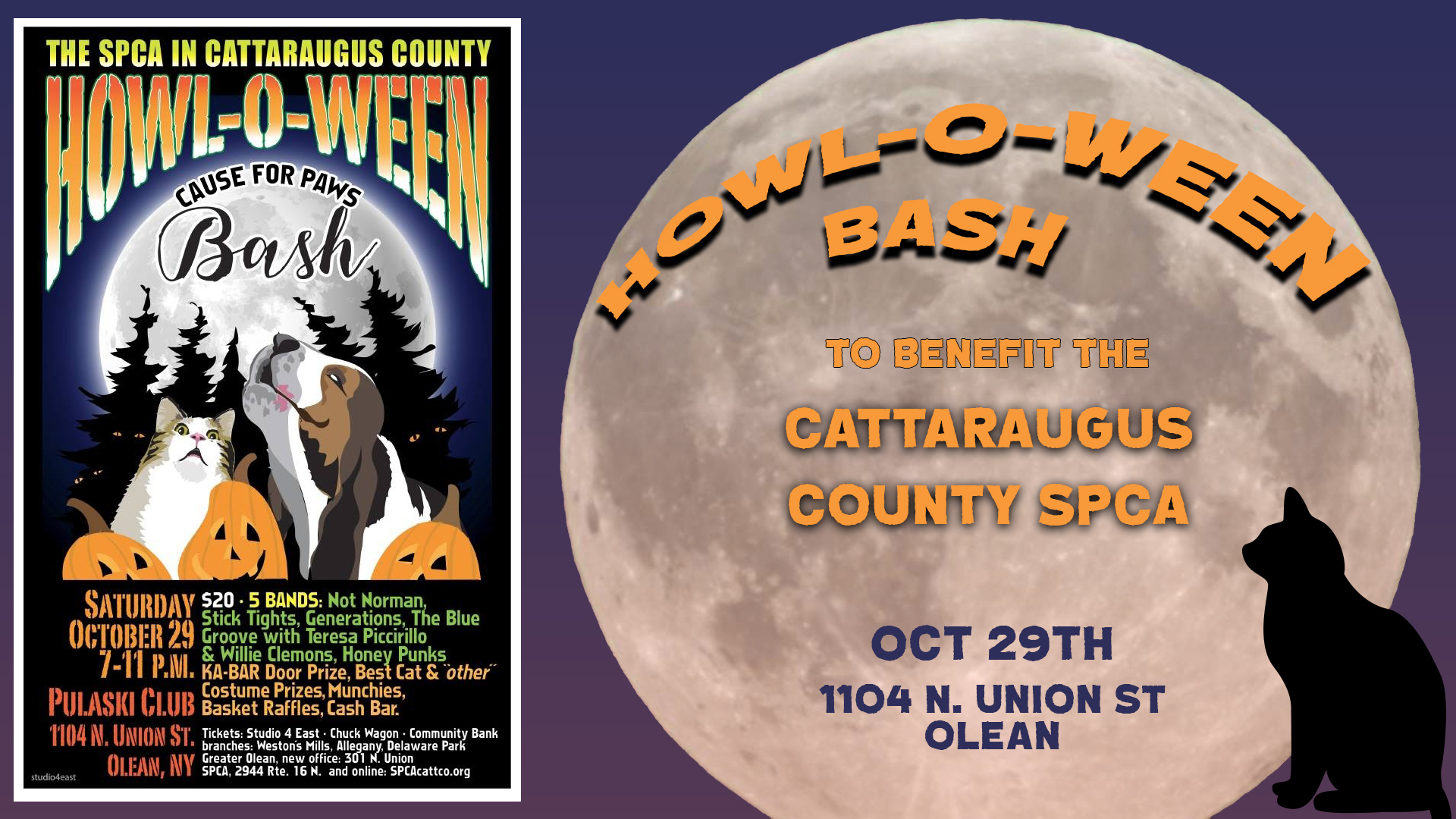 Catt Co SPCA Howl-O-Ween Bash