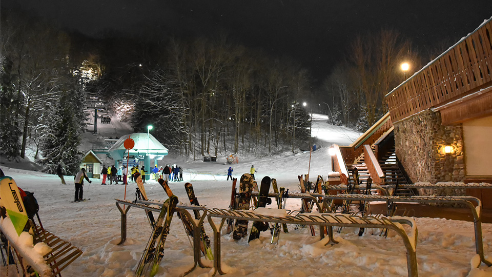 Night at Holiday Valley