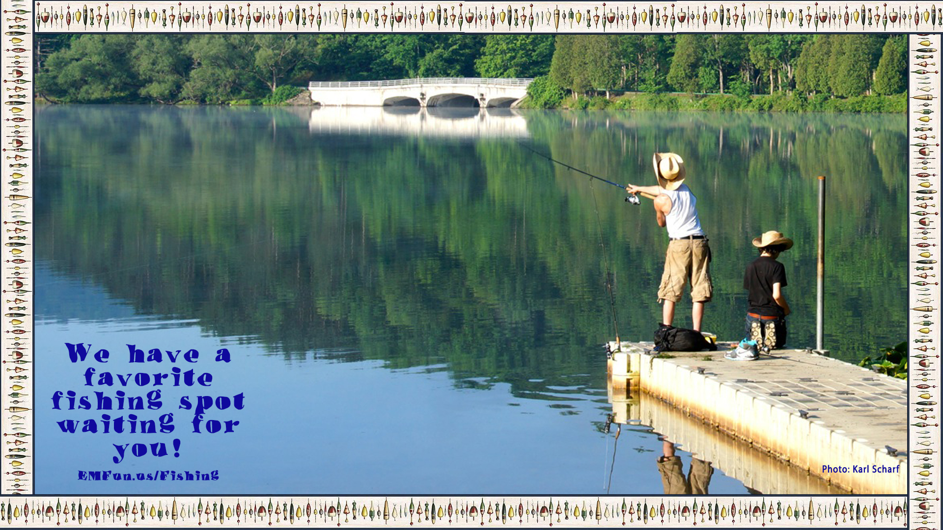 Fishing in Cattaraugus County