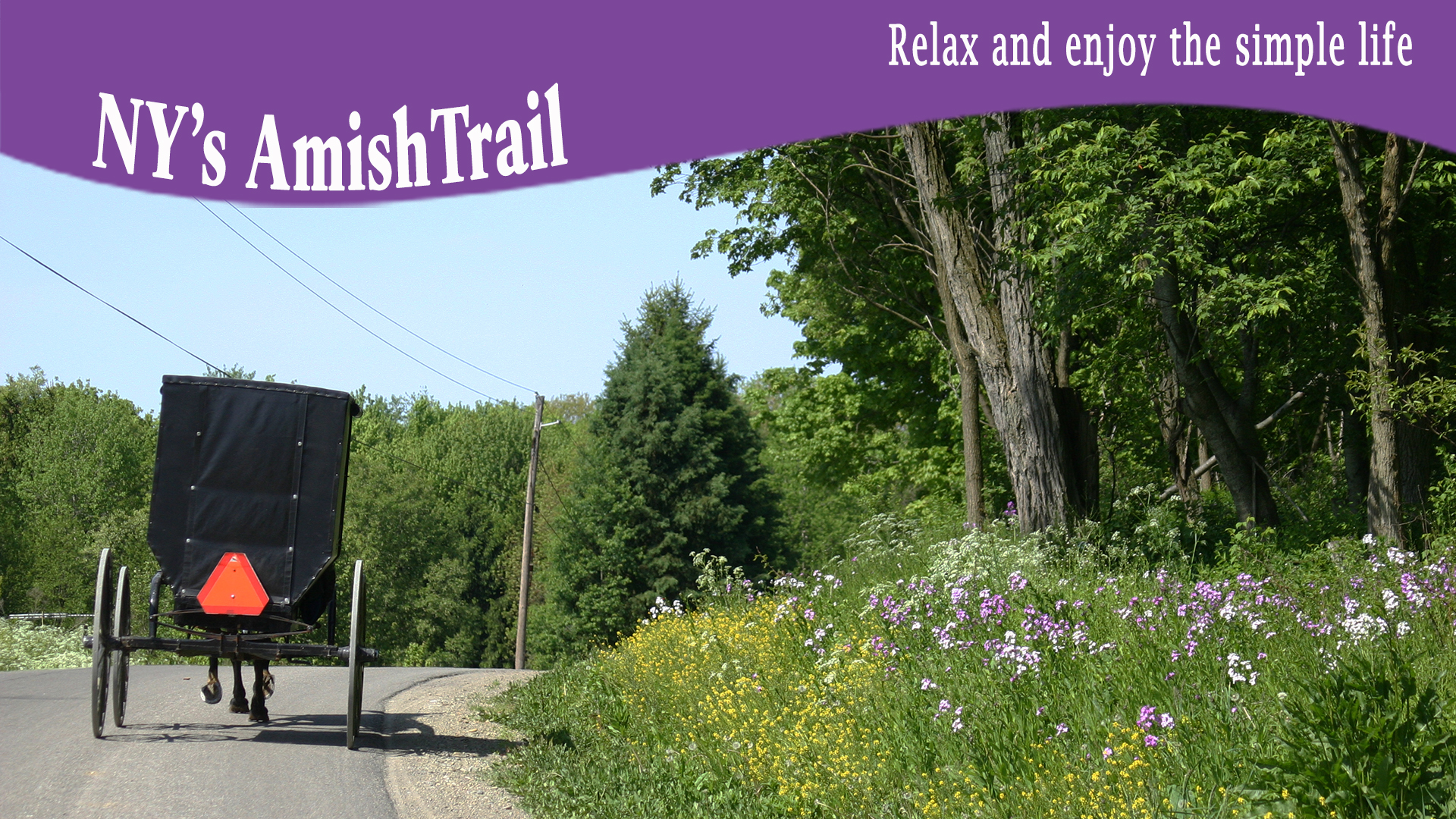 Explore the Amish Trail in Spring!