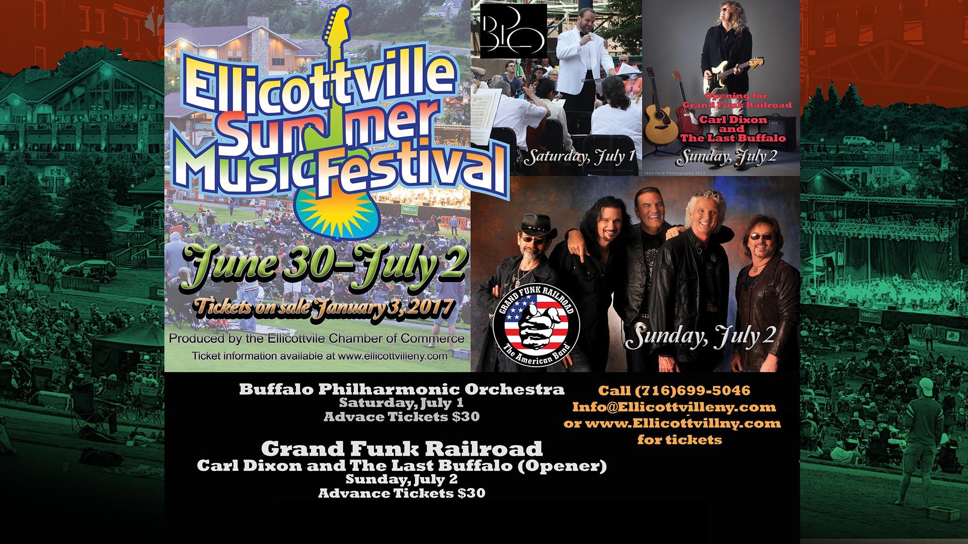 Ellicottville Summer Music Festival!