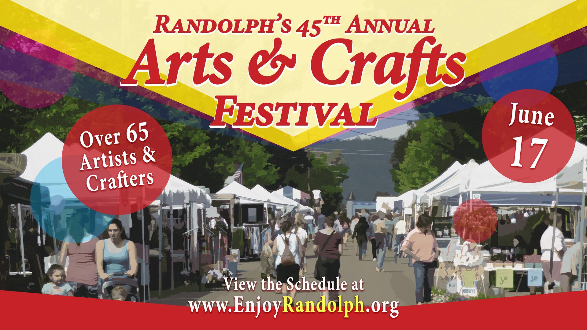 Randolph's Arts N Crafts Festival 2017