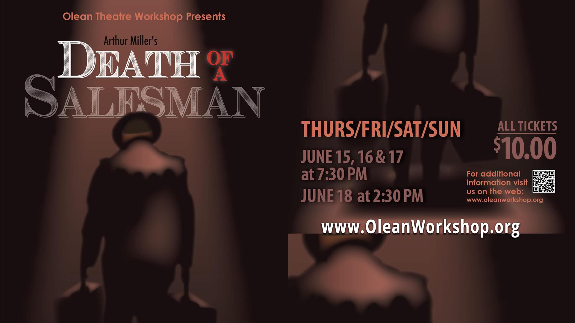 Olean Theatre Workshop presents Death of a Salesman