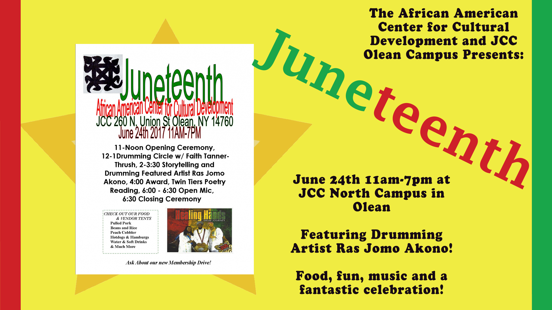 Juneteenth in Olean