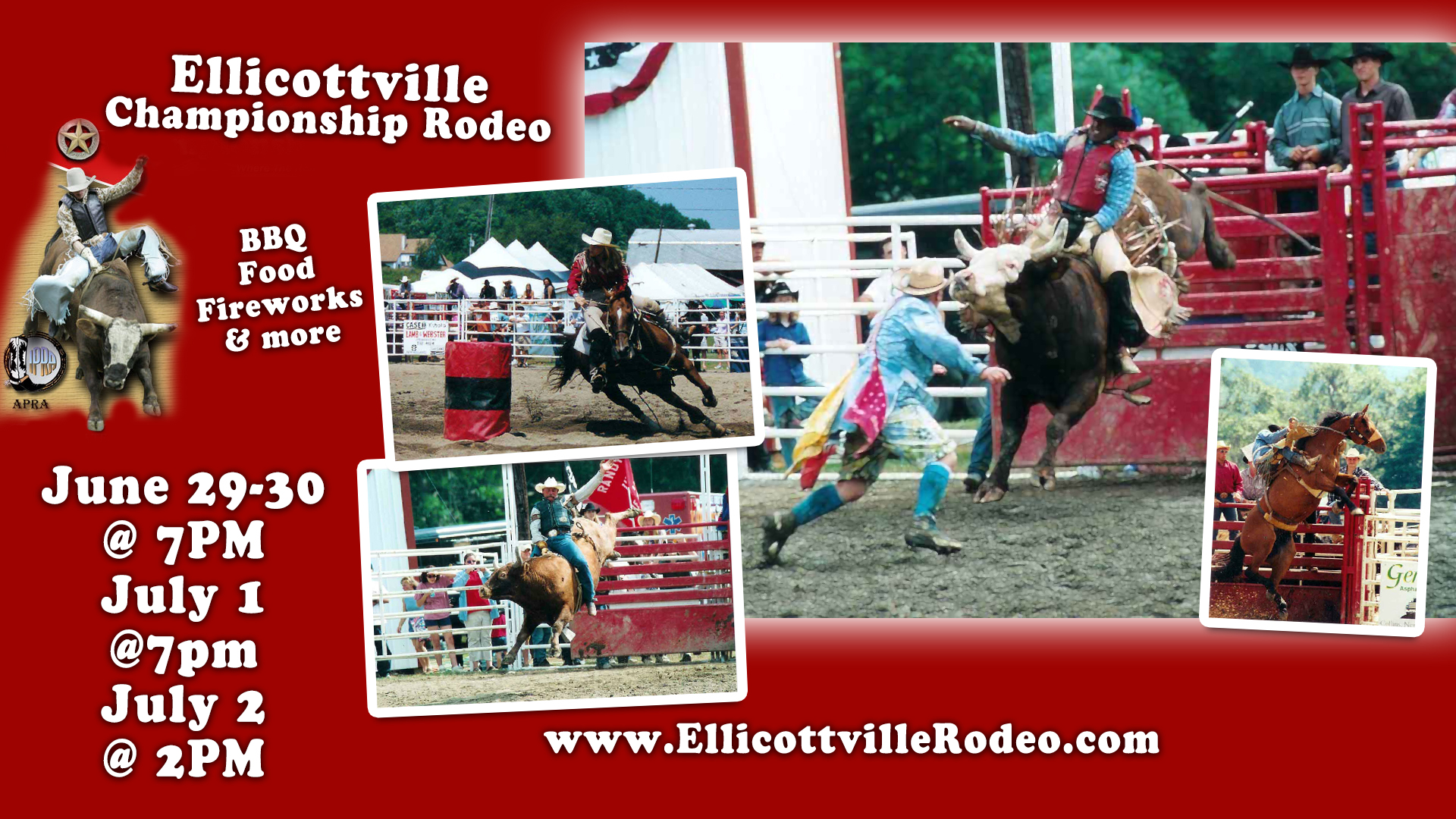 Ellicottville Rodeo 2017
