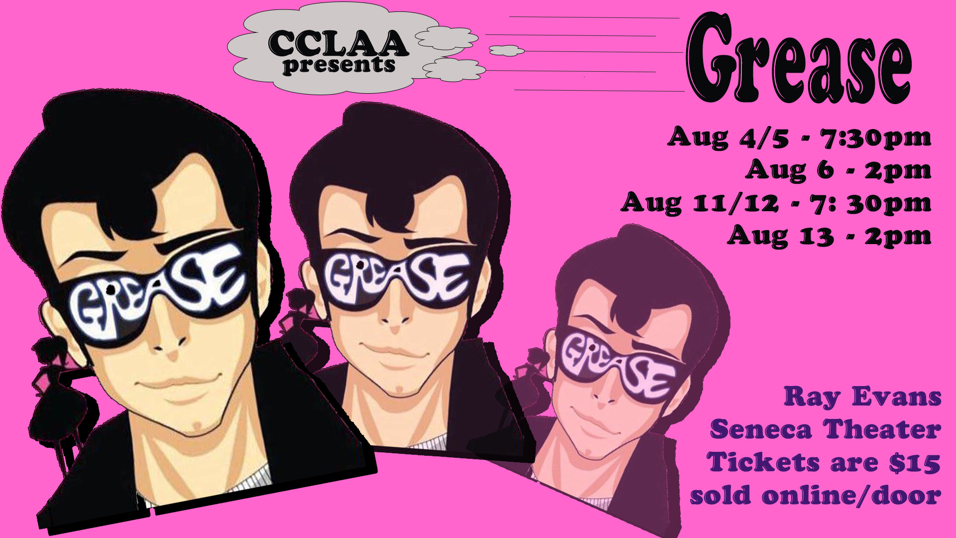 Grease at the Ray Evans Senecat Theater